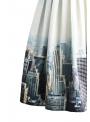 """Midi skirt """"The New York scene"""""""