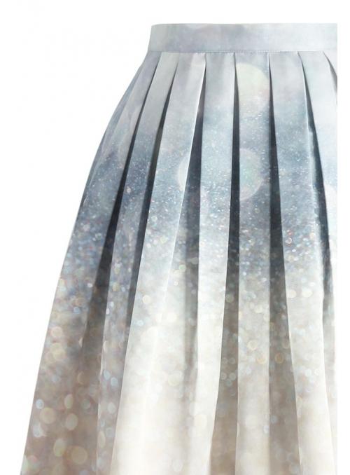 "Midi skirt ""Royal sparkle"""