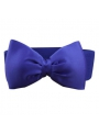 Cute belt with big bow - Blue