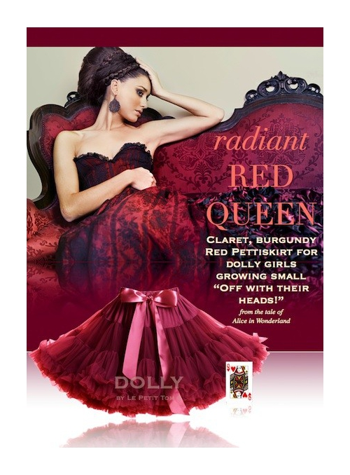 RED QUEEN  Petti skirt