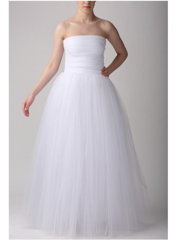 Tylová sukňa baletná biela 110 cm