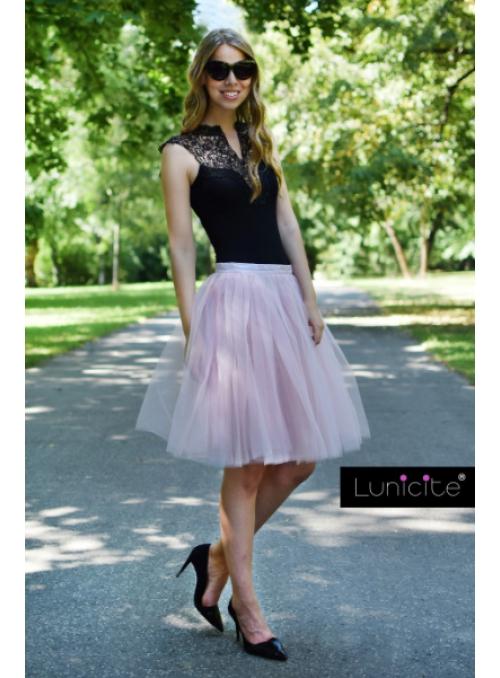 Lunicite REBARBORA – exkluzívna tylová sukňa z bylinkovej kolekcie