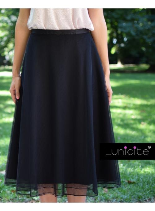 Lunicite OSTRUŽINA- padavá šifónová sukně