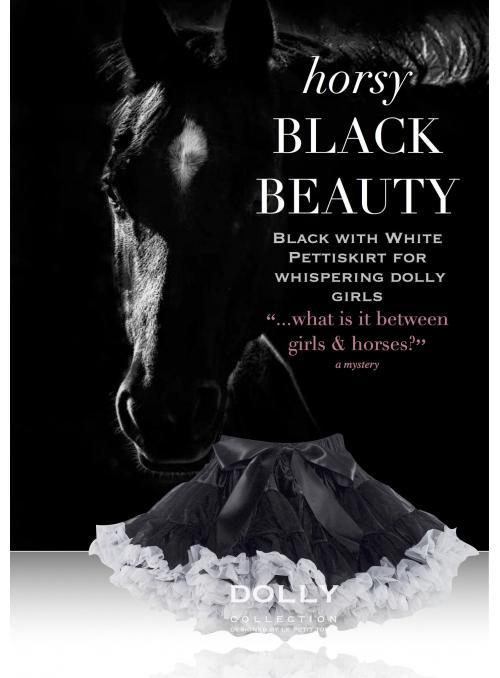 BLACK BEAUTY DOLLY sukně