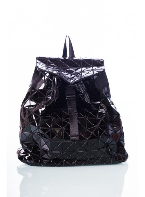 34x30x12 Batoh černý lesklý