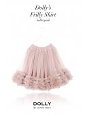 nařasená DOLLY sukně pudrově růžová