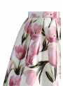 "Midi skirt ""In the embrace of tulips """