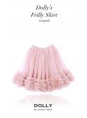 Nařasená DOLLY sukně růžičkovo růžová