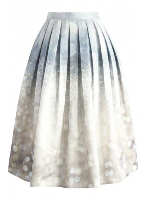 "Midi skirt ""Royal sparkle"""