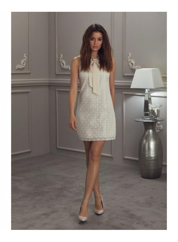 """Šaty """"Béžová elegancia"""""""