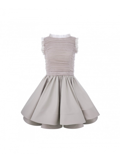 "Dress ""Fluffy cappucino"""