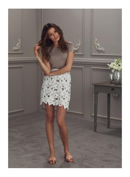 """Luxusní dámská sukně s květovou krajkou """"Liliana"""""""