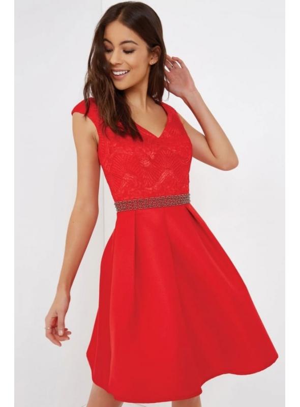 """Šaty """"Červené osvieženie"""""""