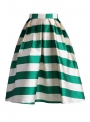 "Midi skirt "" Pastel skirt with stripes"""
