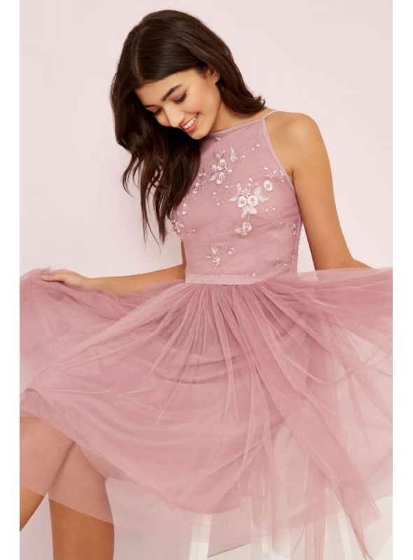 "Mauve dress ""Mysterious fairy"""