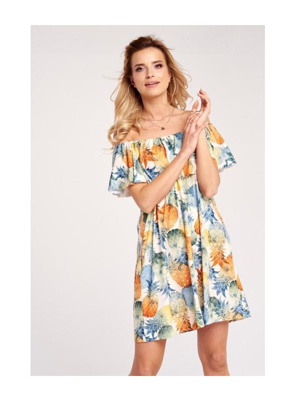 "Šaty ""Šťavnaté ananásy"""