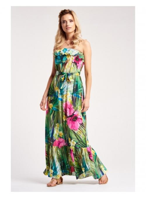 """Maxi šaty """"Tropické léto"""""""