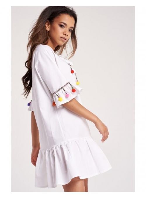 Pompons šaty