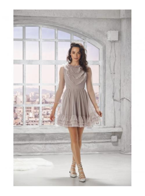 """Šaty """"Ophelia"""", béžové"""