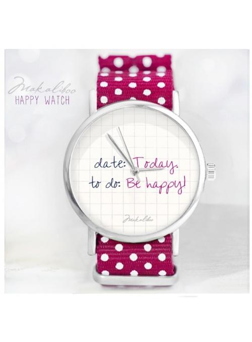 """Hodinky """"BE HAPPY"""" - dámské hodinky"""