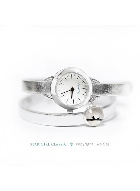 """Hodinky """"WATCH A WINTER GARDEN"""" - dámské hodinky s přívěskem"""