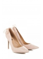 LOVELY - Nude ladies pumps with a bow