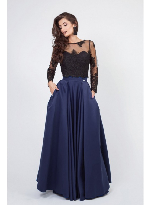 "Maxi Skirt ""Blue Night"""