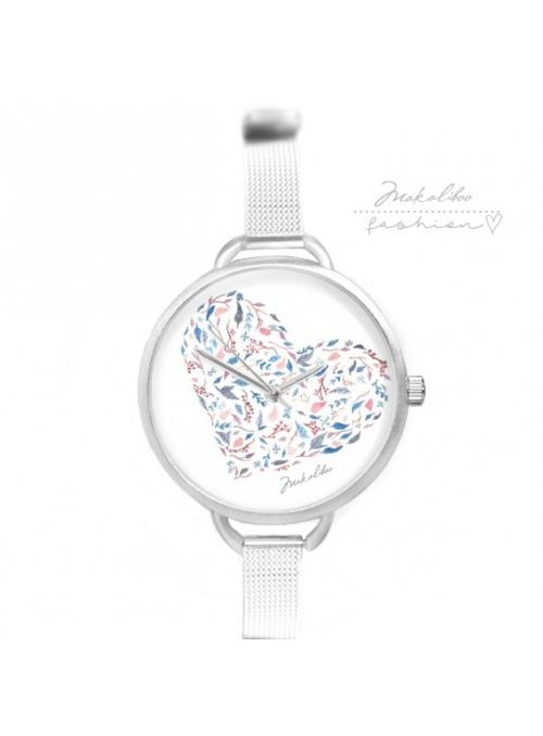 """Hodinky """"SPRING HEART"""" – dámske hodinky so srdiečkom"""