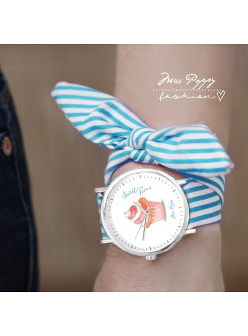 """Hodinky """"SWEET TIME"""" – dámske hodinky + vymeniteľý náramok"""