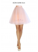 Lunicite PEACH TULIP - exclusive tulle skirt peach 55cm