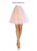 Lunicite BROSKVOVÝ TULIPÁN – exkluzivní tylová sukně broskvová, 55cm