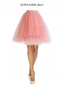 Lunicite ORANGE - exclusive tulle skirt of herb collection
