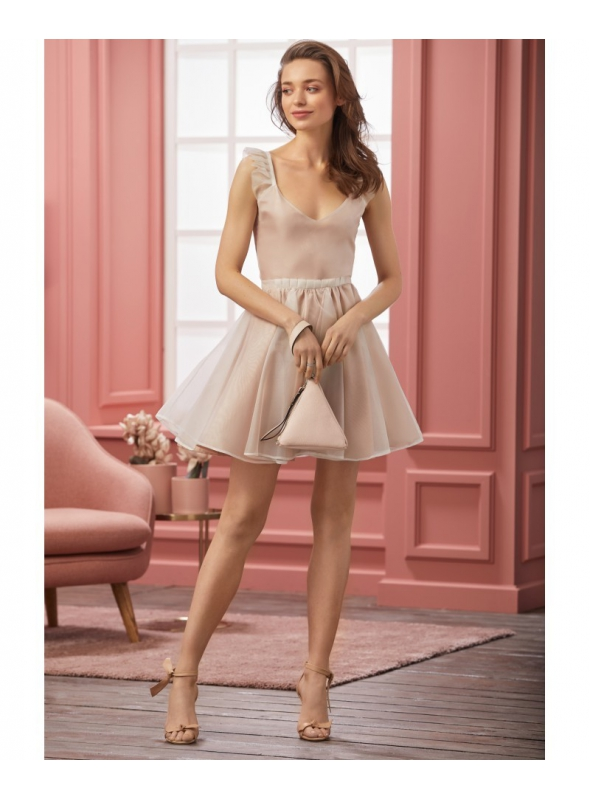 "Dress ""CHLOE"" - Ladies pink dress"