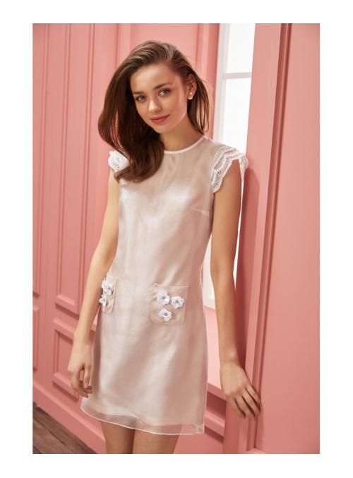"""Dress """"SCARLETT"""" - Powder women's dress"""