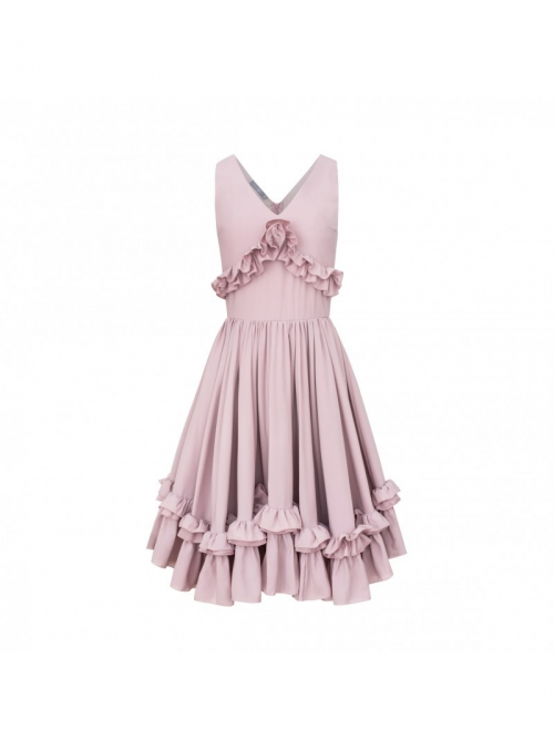 "Dress ""CHANTELLE"" - ladies pink dress"