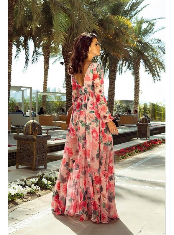 """Maxi šaty """"Rose garden"""""""