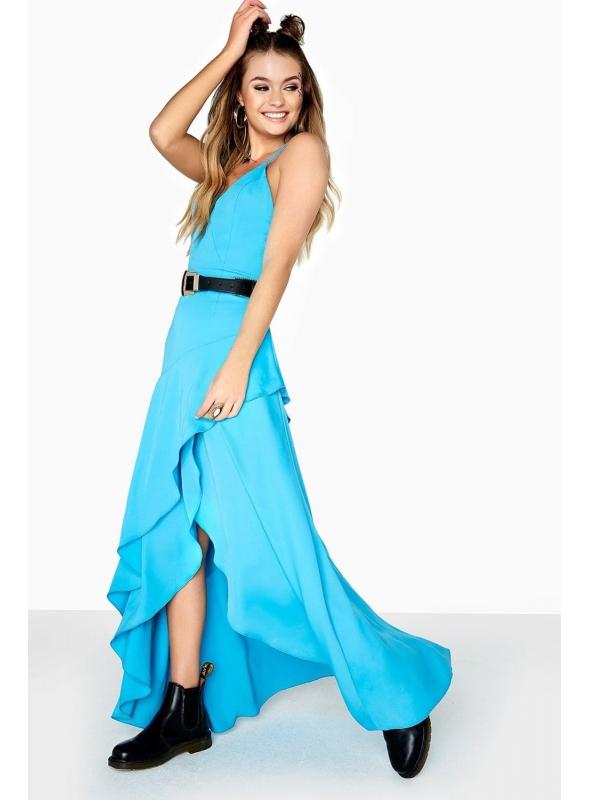 "Maxi šaty ""Blue lagoon"""