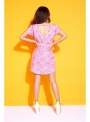 """PINK NATURE"" - ladies short dress"