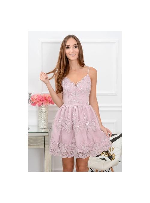 """""""LAVENDER FLOWER"""" - dámske krátke šaty"""