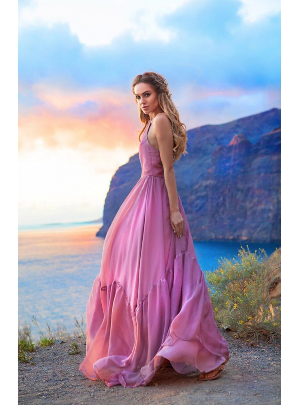 GIRL POWDER – dámske maxi šaty