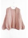 "Moderný sveter ""pink tulip"""