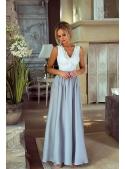 """Maxi šaty """"Silver"""""""