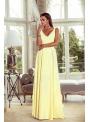 Klaudia – žlté maxi šaty