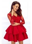 Mini dress LILI, red