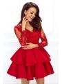 Mini šaty LILI, červené
