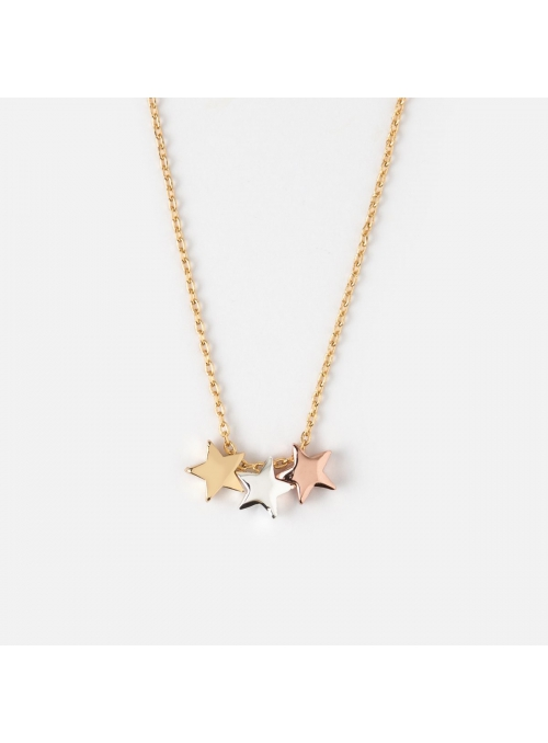 "Necklace ""Three stars"""