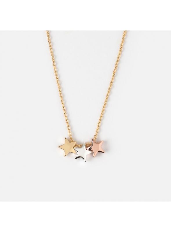 "Necklace ""Three stars"""