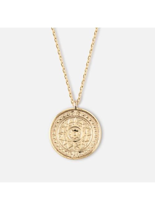 """Náhrdelník """"Gold coin"""""""