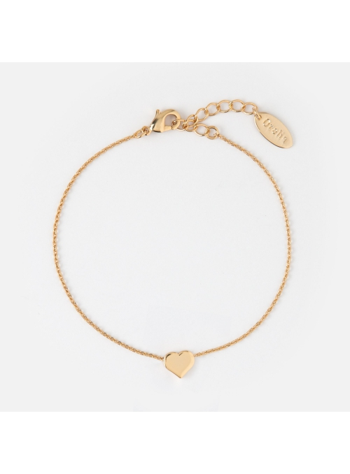 "Bracelet ""Gold mini heart"""