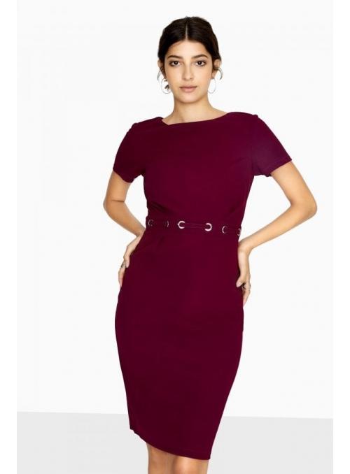 "PREDOBJEDNÁVKA Šaty ""Purple vine"""
